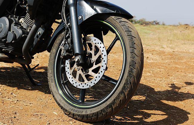 Front wheel disc brake
