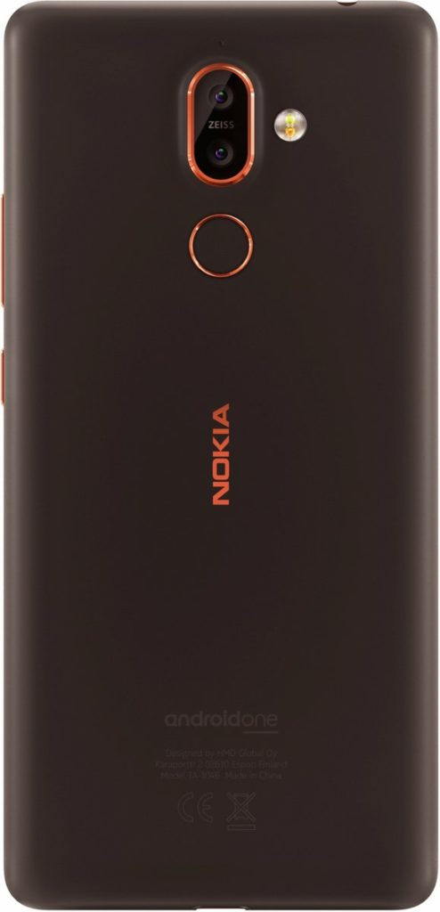 Nokia 7+ Brown color
