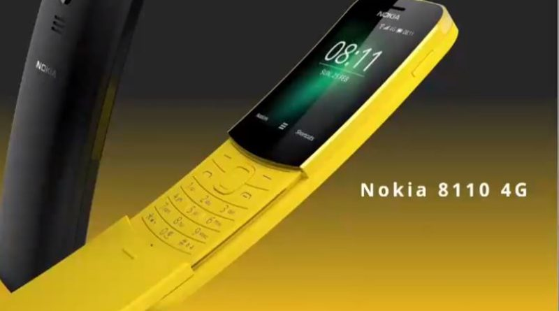 Nokia 8110_Banana Phone