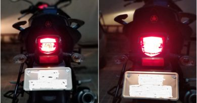 Tail light & Brake light in action
