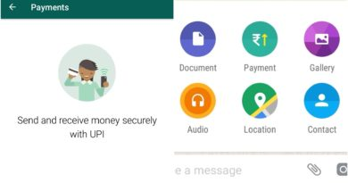 UPI Payment in WhatsApp